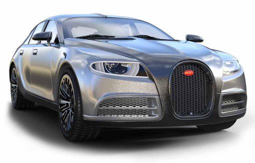 Bugatti silbergrau auto ankauf itani