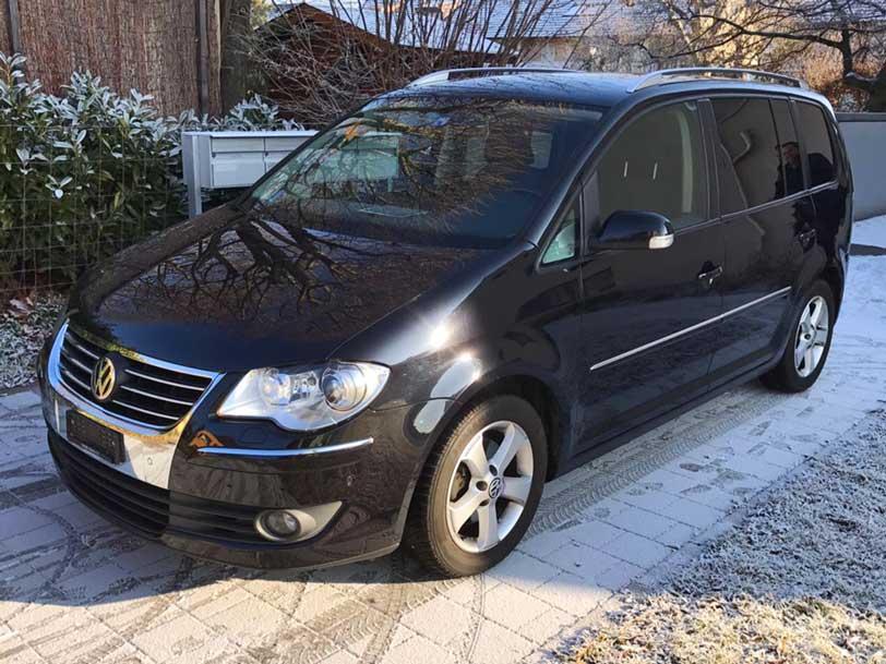 VW Touran Autoverkauf