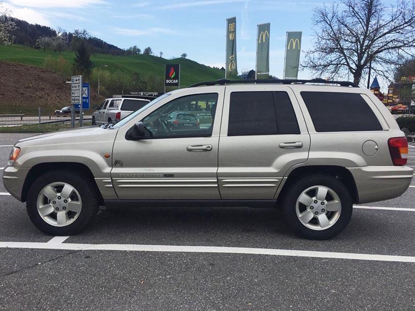 Jeep Grand Cherokee-2003 Benzin 4.7 280000km