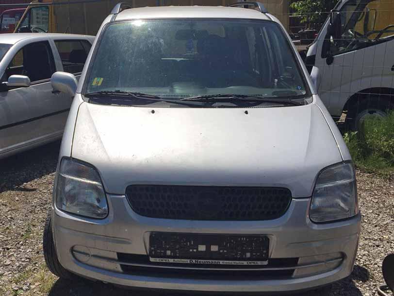 Opel Agila 2000 Autoankauf Itani