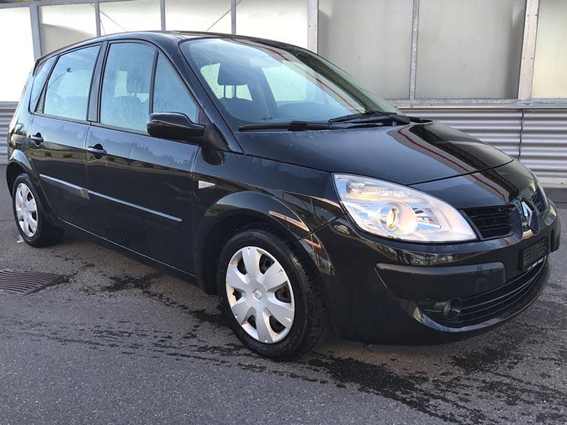 Renault Scenic 2007 Diesel schwarz