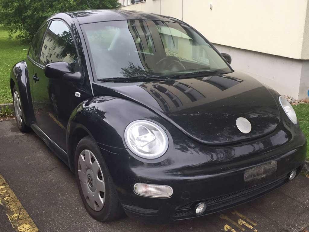VW Beetle 2001 Autoankauf Itani