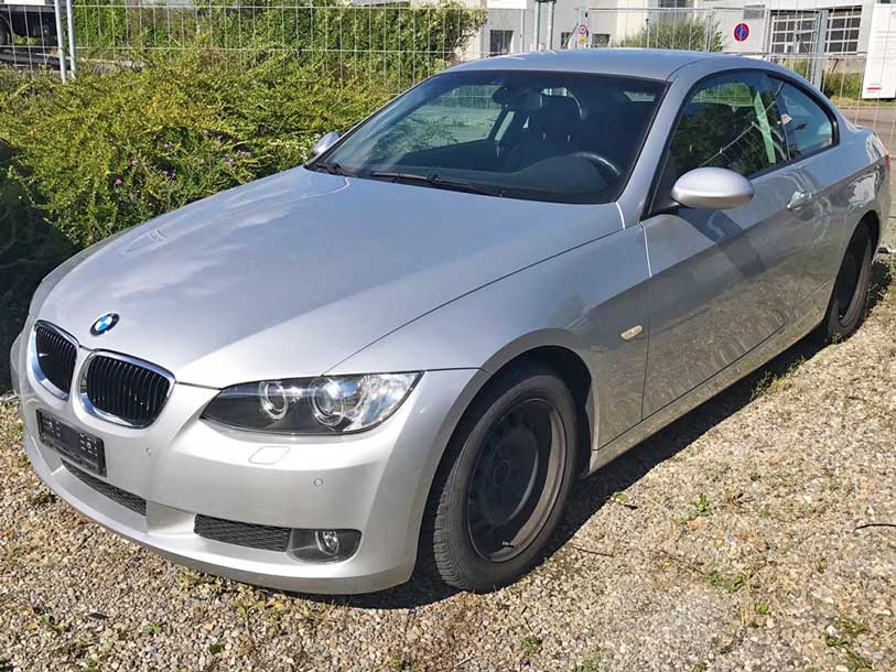 BMW 320 Coupe Steptronic Autoankauf