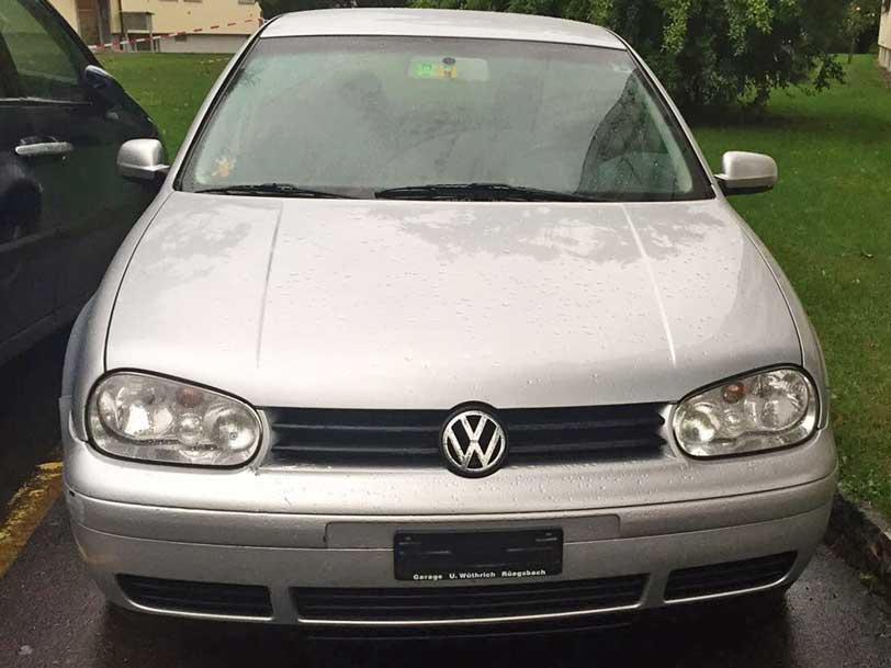 VW Golf 2002 Handschaltung 1,6L Benziner
