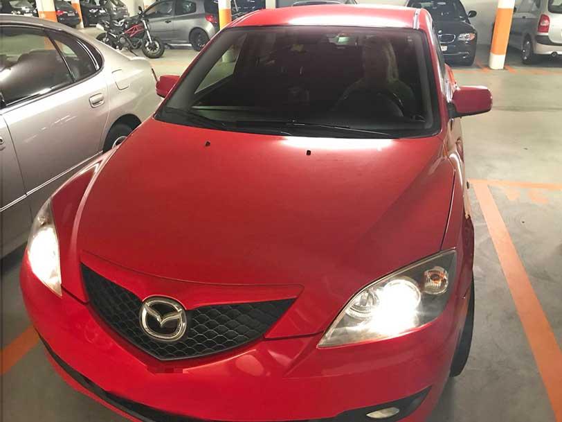 Mazda 3 2007 1,6L Benziner handgeschaltet