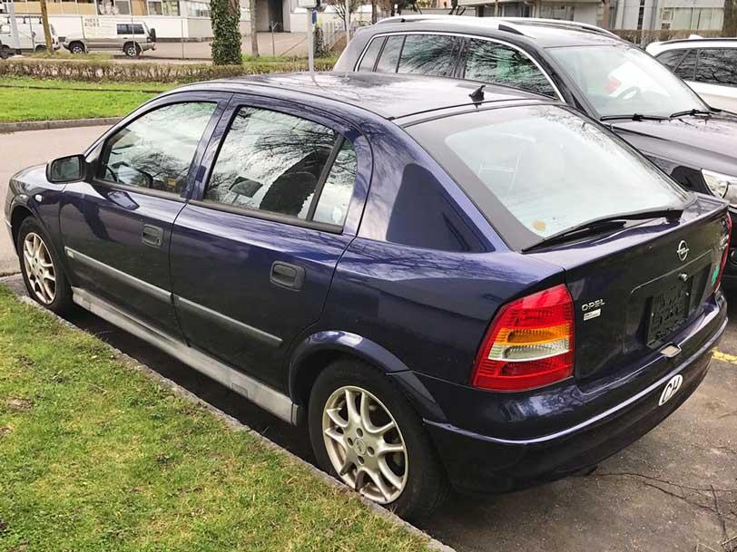 Opel Astra 2003 1,4L Benzin 195000km manuell