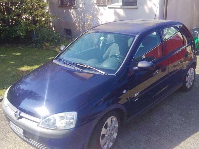 Opel Corsa 2001 Benziner 1,4L 140000km manuell Klima