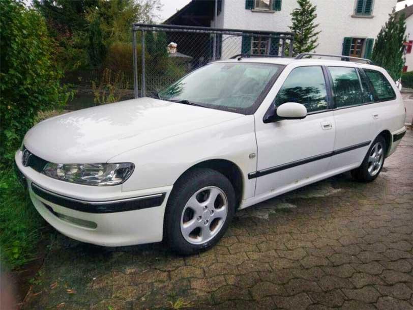 Peugeot 406 manuell Benzin 2002 138000km