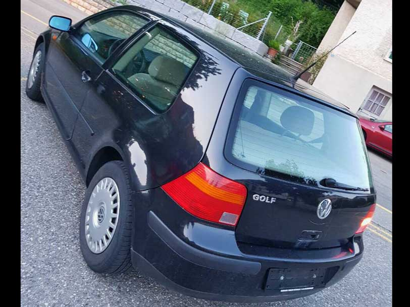 VW Golf 1998 Automat Klima 1,8L 225000km Benziner