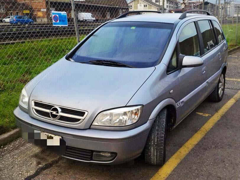 Opel Zafira 2005 2,2L Diesel 197000km manuell