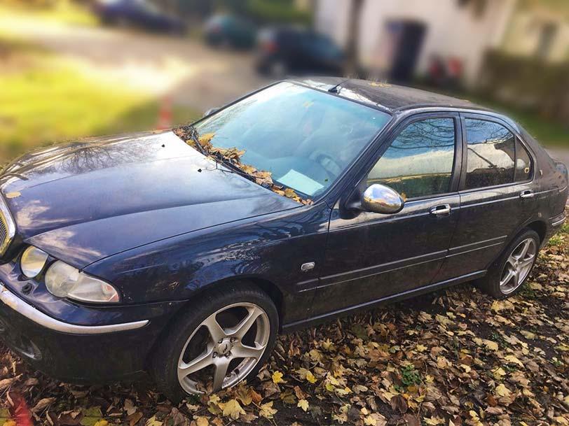 Rover 45 manuell 2001 175000km 2L Benzin