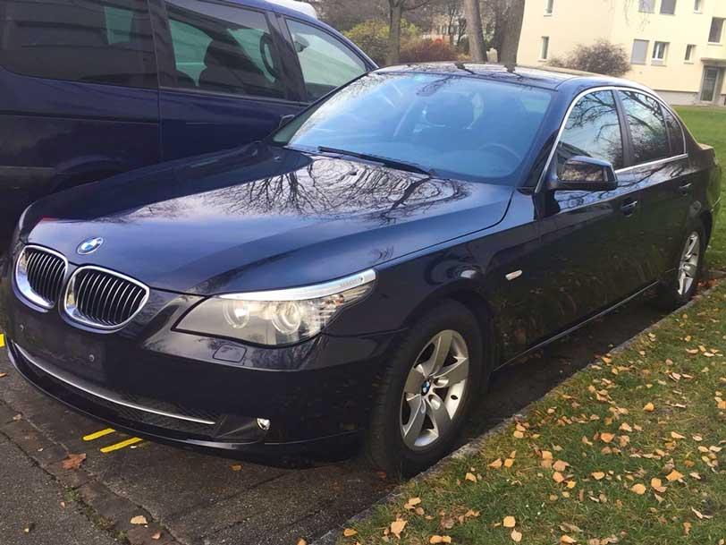 BMW 525 Klima 2010 Benziner manuell 90700km