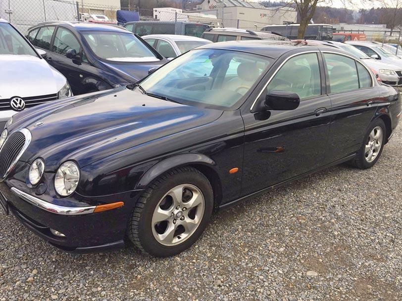 Jaguar S-Type 2000 manuell Klima Benzin 3L 170000km Autoankauf Itani