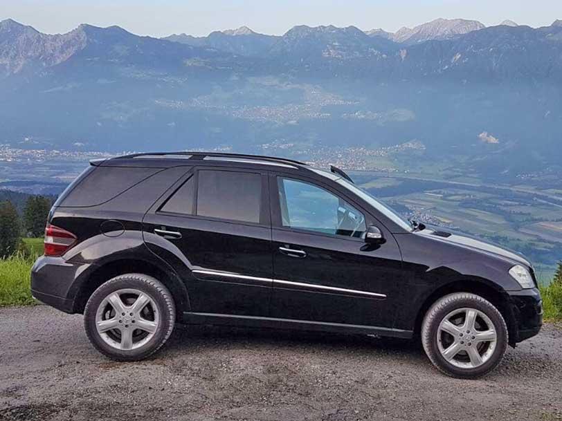 Mercedes-Benz ML 350 2006 Automat Leder Klima 225000km