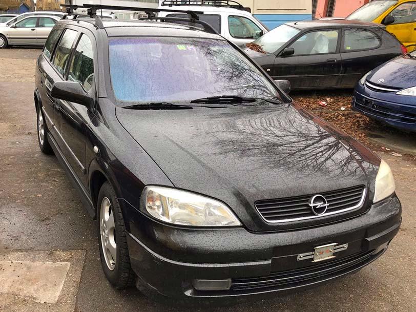Opel Astra 1,8L Kombi 1999 Klima Benziner 203000km Autoankauf