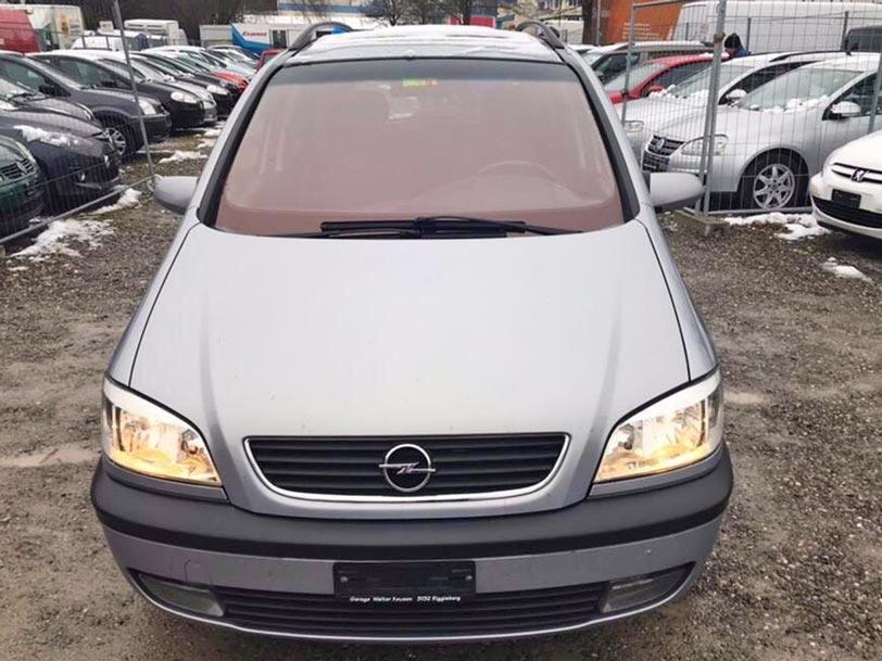 Opel Zafira 2001 Automat Diesel 2,2L 225000km Autoankauf Itani
