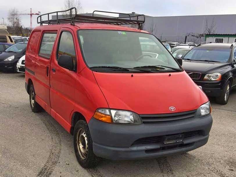 Toyota Hi-Ace 2000 Benzin 2,7L manuell 175000km Autoankauf Itani