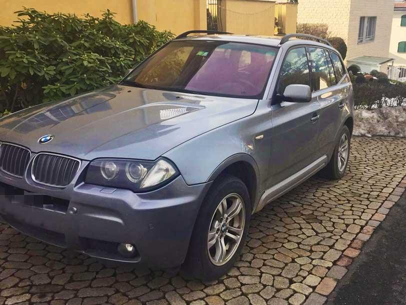 BMW X3 M-Maket 2008 3L Diesel Automat Leder Klimaanlage 258000km Autoankauf