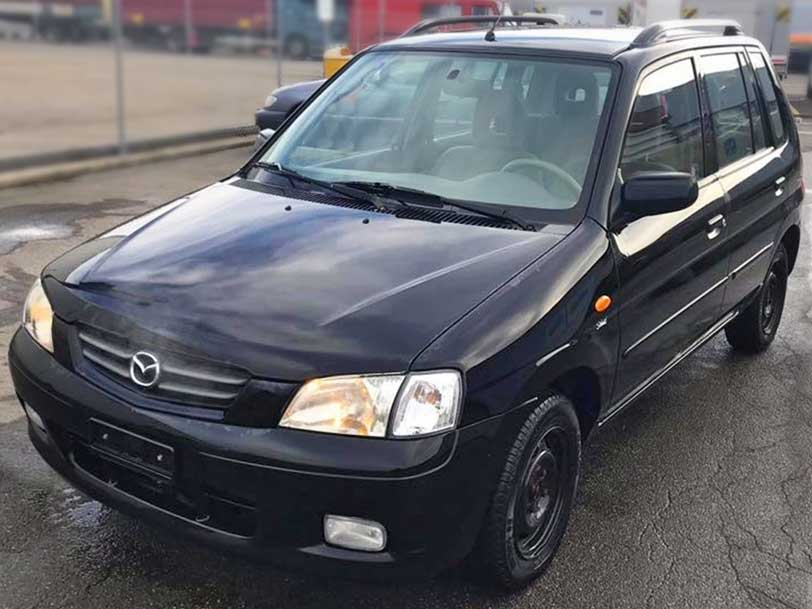Mazda Demio 2001 manuell Benzin Klimaanlage 202000km Autoankauf