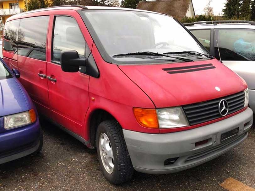 Mercedes Vito Minibus 1998 Diesel 220000km Handschaltung Autoankauf