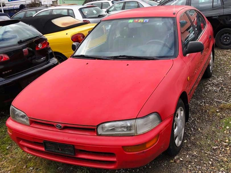 Toyota Corolla 1993 Handschaltung 1,3L Benzin