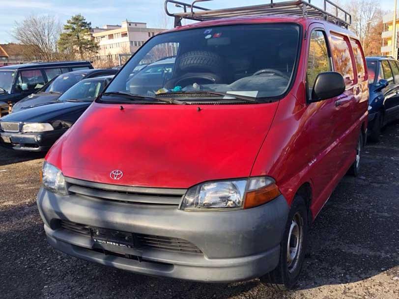 Toyota Hi-Ace 1998 2,4L manuell 2200000km benziner Autoankauf Itani