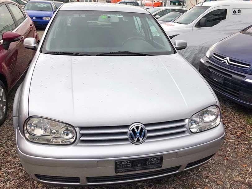 VW Golf 1,6L Automat 119000km Benzin Klimaanlage Autoankauf