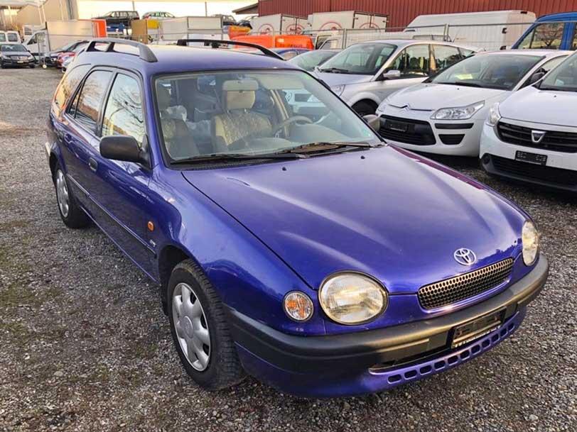 Toyota Corolla 1998 4x4 Benzin 265000km Klimaanlage