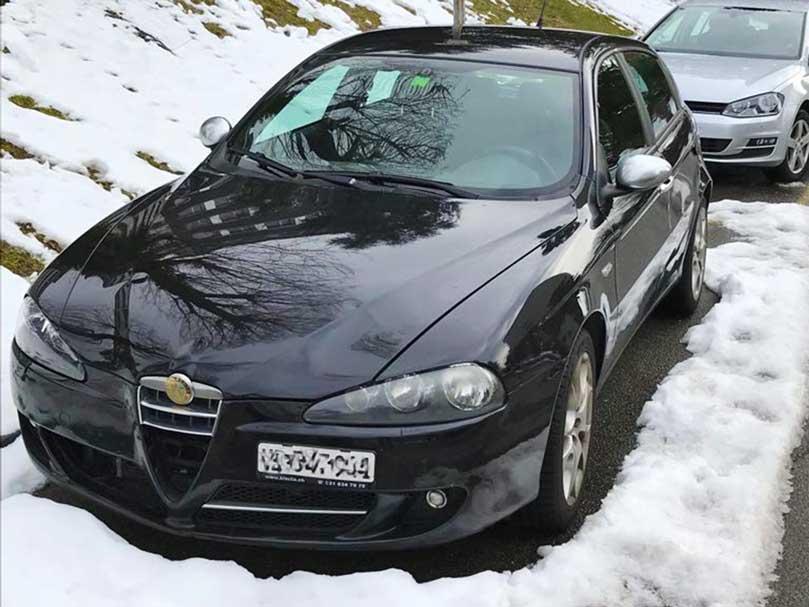 Alfa Romeo 147 1,9L Diesel 2007 200000km Handschaltung