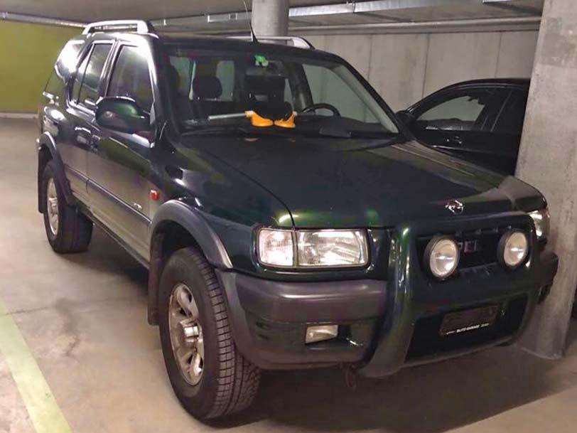 OPEL Frontera 2000 2,4L Benzin Automat Klima 212000km