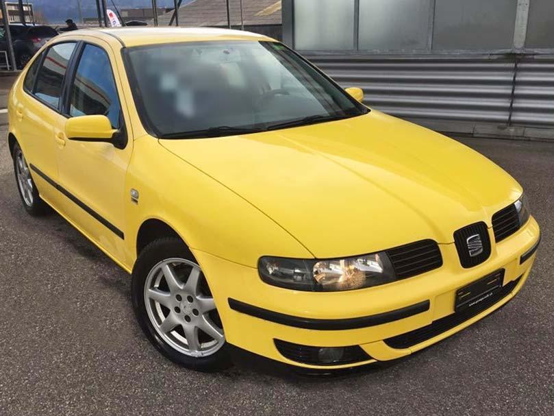 SEAT Leon 1,8l 4x4 167000km 2001 Benzin