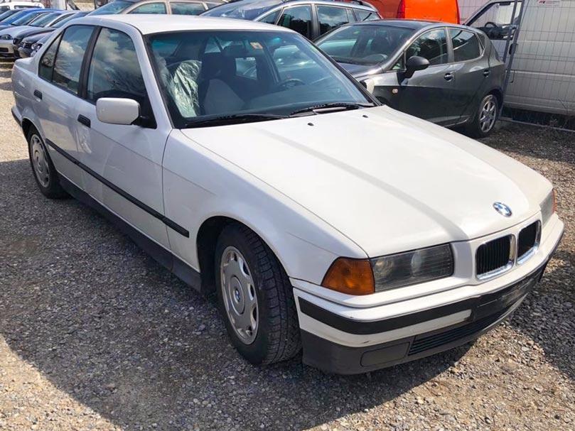 BMW 318 Limousine 1994 Automat Benzin Klimaanlage 125000km Autoankauf