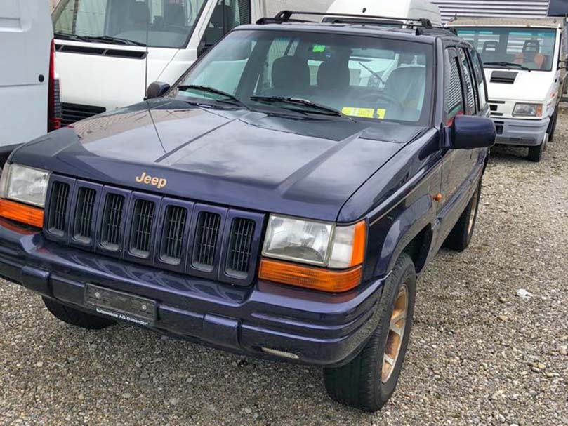 Jeep Grand Cherokee 1997Jg 4000ccm 250000km Automat Leder Klima Benzin