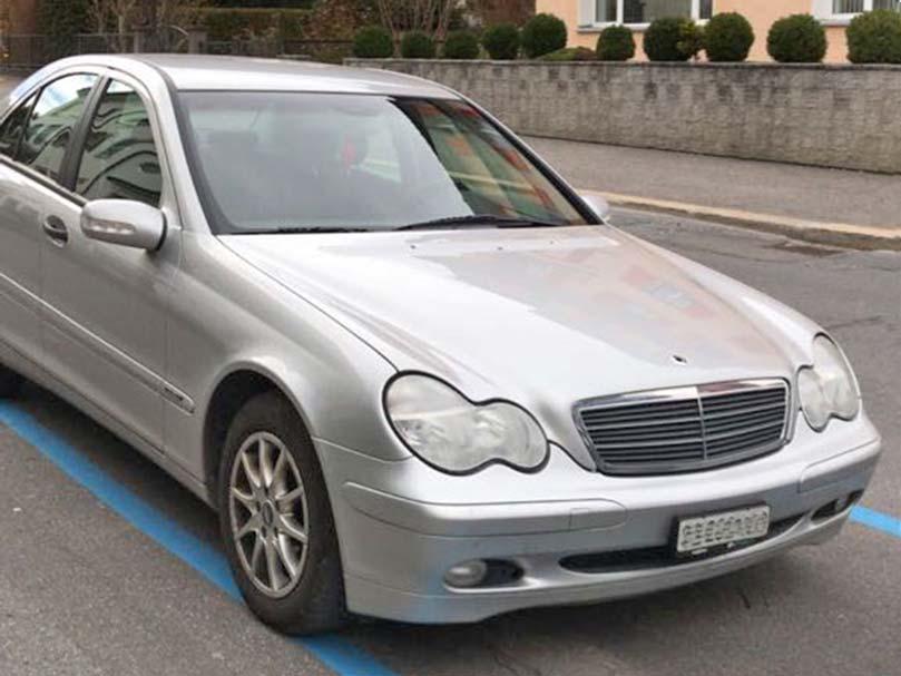 Mercedes C 180 Automat Klimaanlage Benzin 1,8L 2003 Silber 230000km
