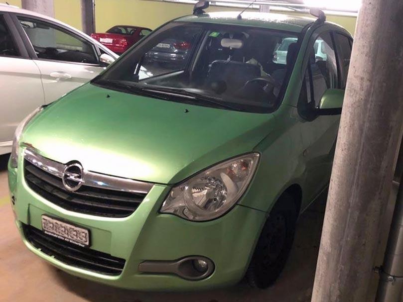 Opel Meriva 2009 Automat Klimaanlage 178000km Benziner Autoankauf