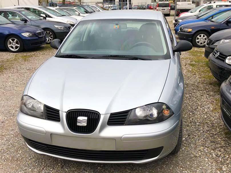 SEAT Ibiza 2004 manuell Klimaanlage Benziner 1,8L