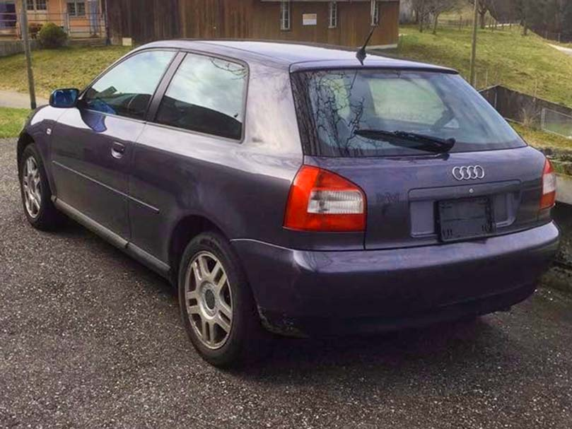 Audi A3 Quattro 2001 236000km Handschaltung Klimaanlage