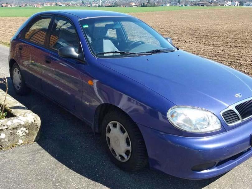 Daewoo Lanos 2002 96000km 1,4L Benzin Handschaltung Klimaanlage
