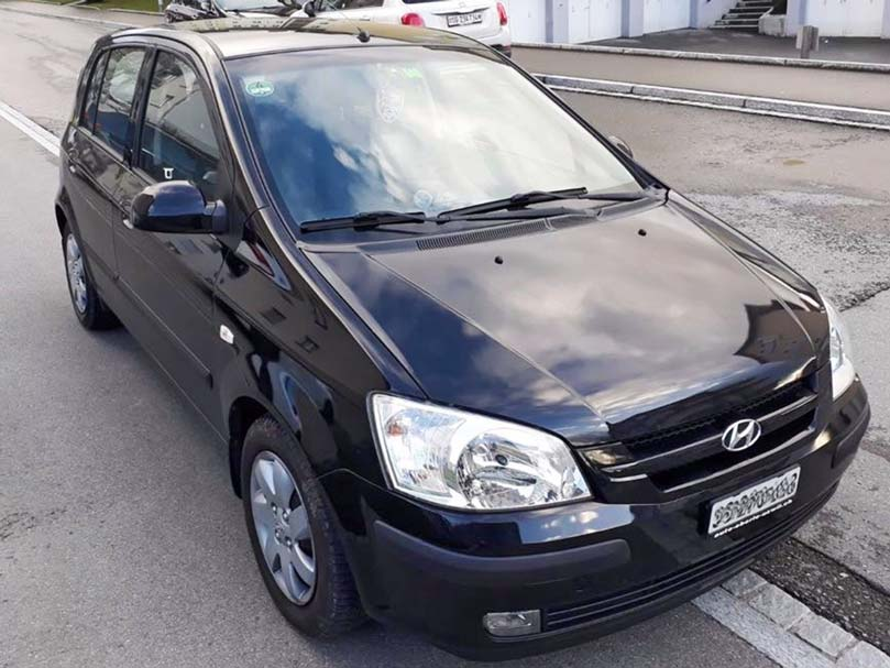 Hyundai Getz 2005 Handschaltung Klimaanlage 110000km 1,4L Benzin