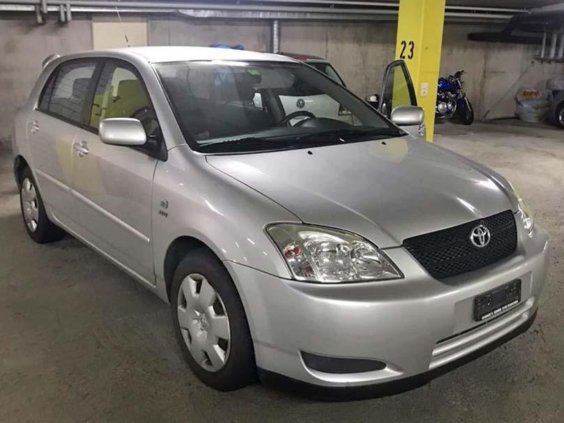 Toyota Corolla 2003 Handschaltung Benziner 1,4L 185000km Klimaanlage