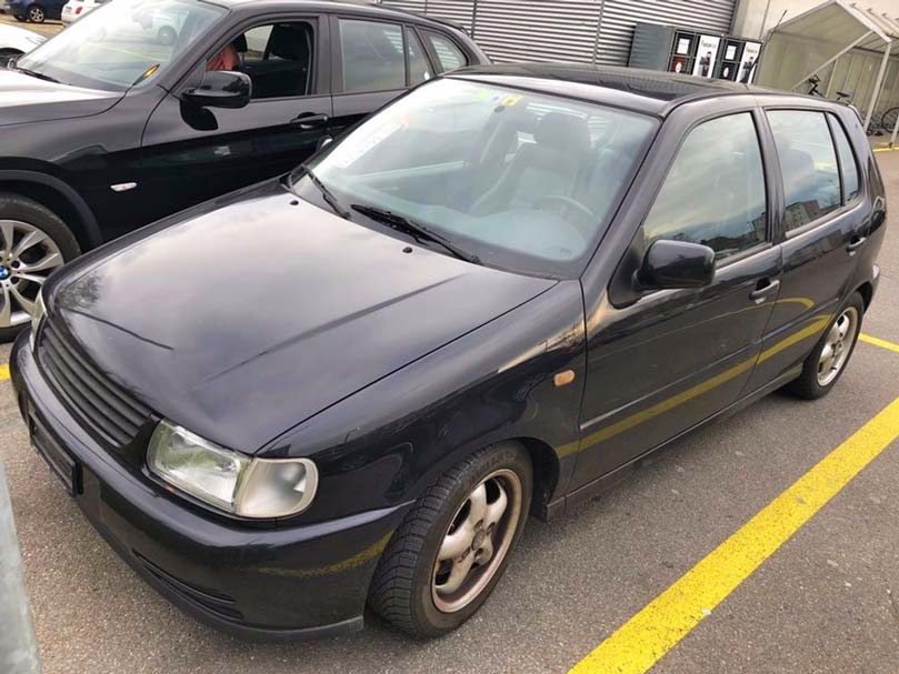 VW Polo 1998 14,L Benzin Klimaanlage 195000km