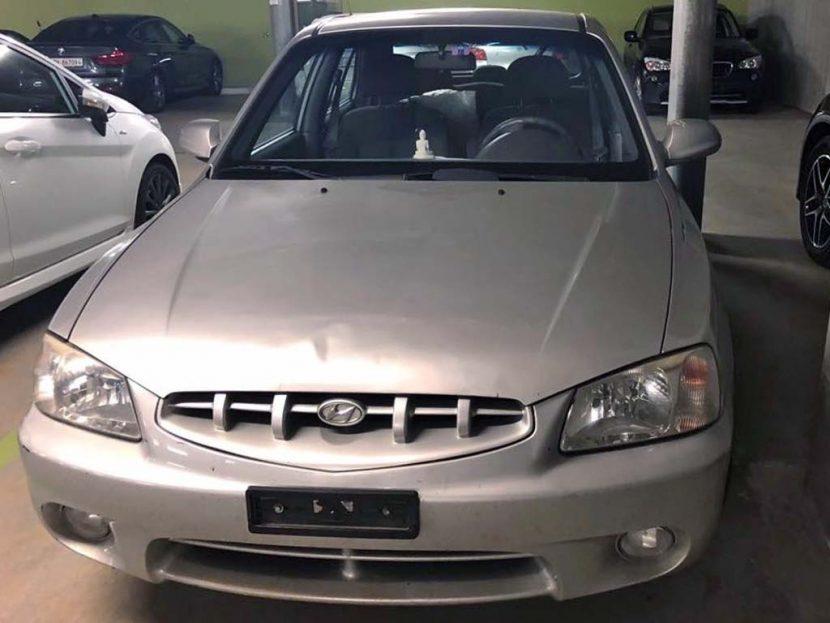 Hyundai Accent 2001 Automat Klimaanlage 1,5L Benzin 195000km