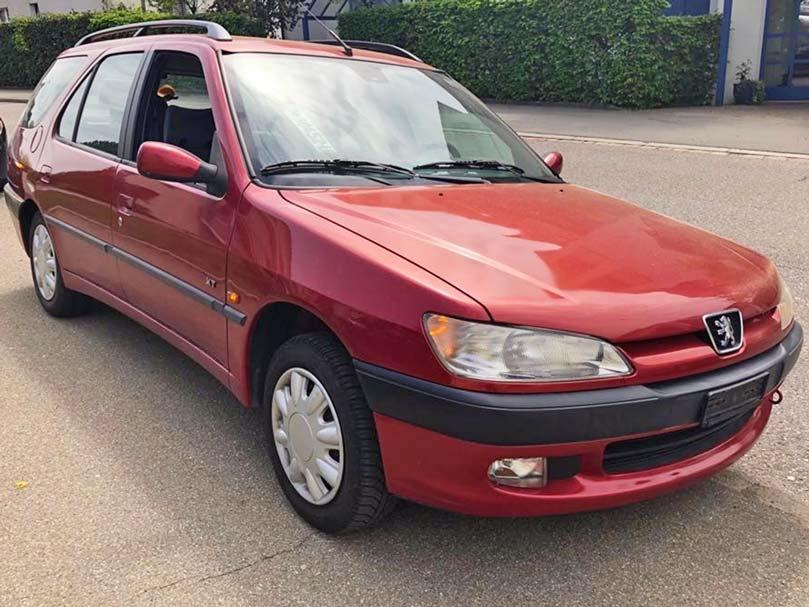 Peugeot 306 Kombi 2L Handschaltung Klimaanlage Benzin 231000km