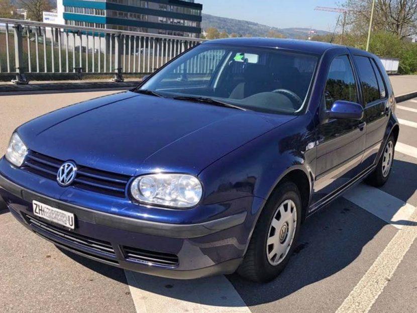 VW Golf 2001 176000km 1,6L Benzin Automat Klimaanlage