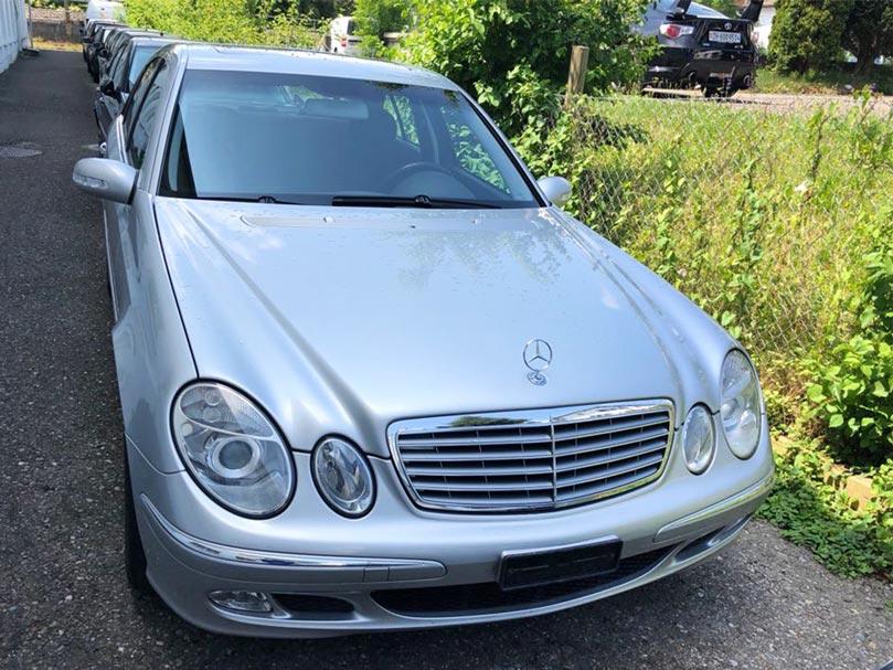 Mercedes Benz E 320 Automat 2003 Benziner Klima 1777000km Autoankauf