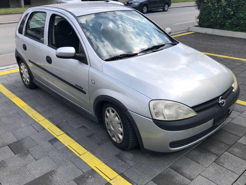 Opel Corsa 2002 Jg 1,4L Motor Benzin Klimaanlage Handschaltung 197000km