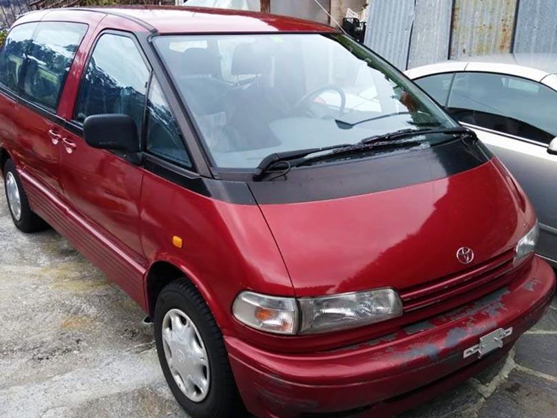 Toyota Previa 1998 2,4L 4x4 4WD Benziner 225000km manuell