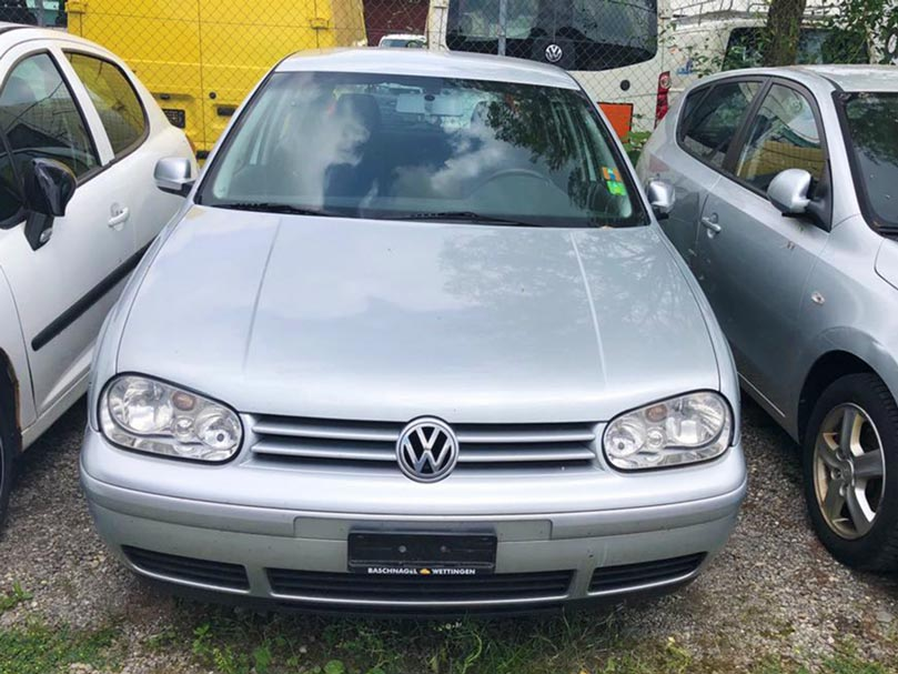 VW Golf 2003 Benziner 1,3L manuell Klima Autoankauf