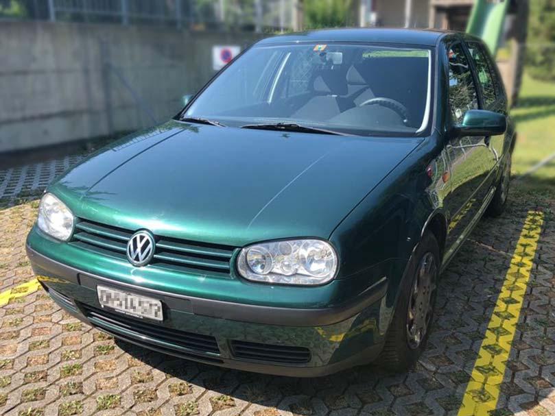 VW Golf 1998 Benziner 1,8L Manuell 228000km Klimaanlage Autoankauf