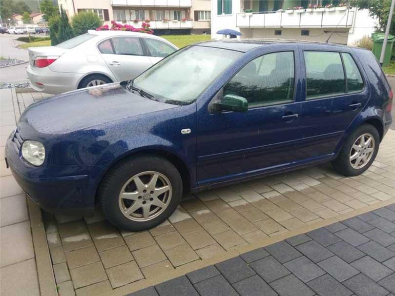 VW Volkswagen Golf 2003 Handschaltung 1,9L Diesel Klima 135000km